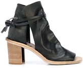 Officine Creative tied ankle boots