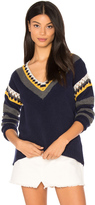 Shae Crochet V Neck Sweater