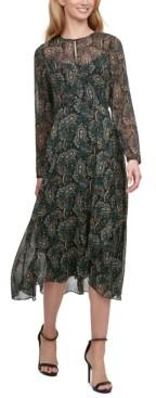 Tommy Hilfiger Paisley Vivette Midi Dress