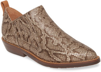 Gentle Souls by Kenneth Cole Neptune Snakeskin Embossed Leather Bootie