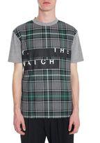 McQ by Alexander McQueen Tartan Print T-shirt