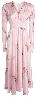 Paco Rabanne Hawaiian-Print Maxi Dress