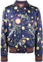 Gucci Space Animal print bomber jacket - men - Silk/Polyester/Viscose/Alpaca - 44
