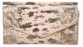 Giuseppe Zanotti Lizard Envelope Clutch