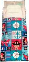 Tiny-Tote-Along Pirate Print Diaper Bag in Blue