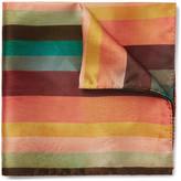 Paul Smith - Striped Silk Pocket Square