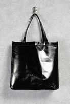 Forever 21 FOREVER 21+ Glossy Eco Tote Bag