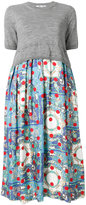 Comme des Garcons printed skirt dress