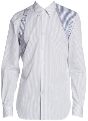 Alexander McQueen Contrasting Striped Harness Shirt
