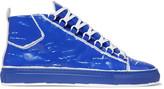 Balenciaga Arena Leather High-Top Sneakers
