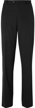 Isabel Benenato Black Virgin Wool Trousers