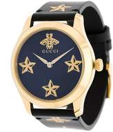 Gucci bee motif watch