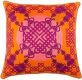 Bivain - Xanadu Rosa Silk Cushion