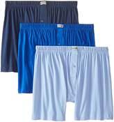 2xist mens Essential Cotton 3 Pack Knit Boxer