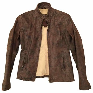 Belstaff Brown Leather Leather jackets