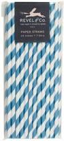 Oceanic Striped Straws