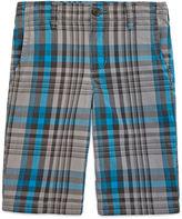 Arizona Plaid Shorts - Boys 8-20, Slim and Husky