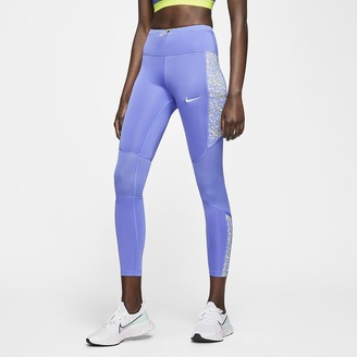 Nike Women's Running Tights Icon Clash Fast
