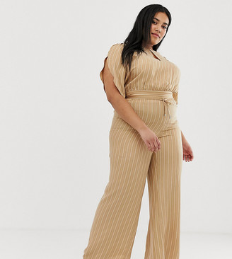 Current Air Plus stripe wide leg trouser