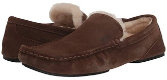 HUGO BOSS Relax Moccassin by Medium Brown) Men's Shoes
