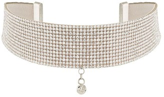 Nuè Crystal-Embellished Band Necklace