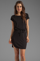 Lanston Open V Back Dress