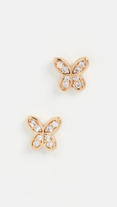 Kate Spade In a Flutter Pave Mini Studs