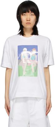 Plan C White Graphic Print T-Shirt
