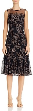 Adrianna Papell Maria Lace Midi Dress