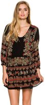 Free People Moonlight Drive Printed Mini Dress