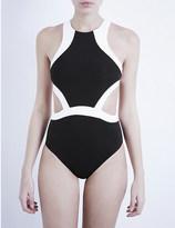 Jets Classique contrast swimsuit