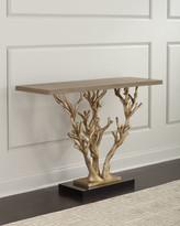 Ambella Woodland Ornate Console Table