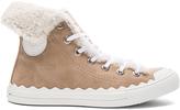 Chloé Suede Kyle Sneakers