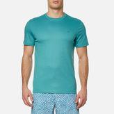 Michael Kors Sleek Mk Crew Neck Tshirt - Lagoon