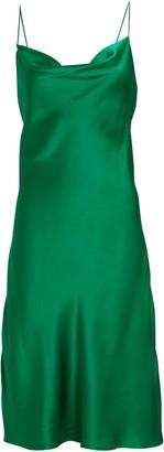 Intermix Silk Bias Midi Slip Dress