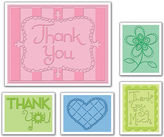 SIZZIX Sizzix Textured Impressions Embossing Folders - Thank You t3
