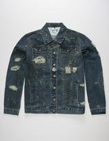 Lrg Destroyed Mens Denim Jacket