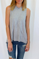 LAmade Soft Grey Sleeveless Top
