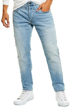 G-Star Raw D-Staq Light Indigo Aged Slim Leg Jean