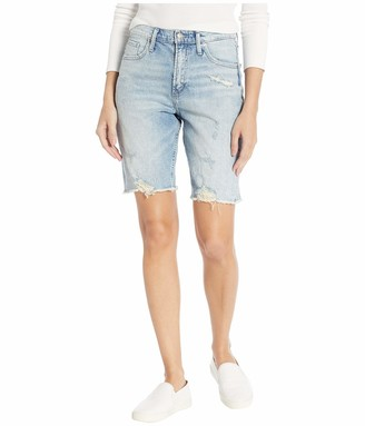 Silver Jeans Co. Women's Frisco High Rise Knee Shorts