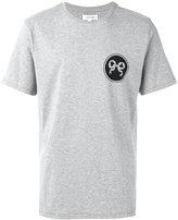 Soulland ribbon print T-shirt