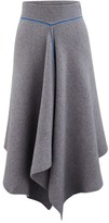 Sportmax Calate wool and Angora wool skirt