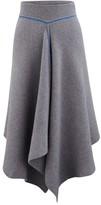 Sportmax Calate wool and Angora wool skirt