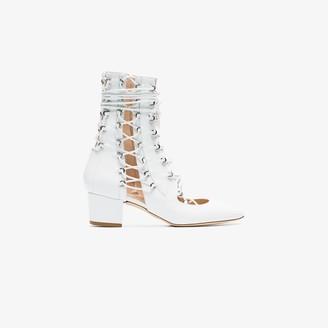 Liudmila White Drury Lane 50 Leather Boots