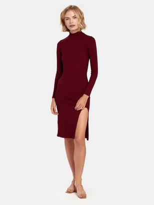 Estelle Turtleneck Midi Dress