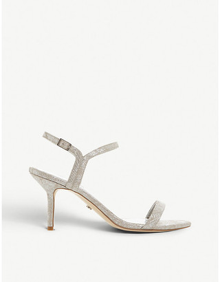 Dune Monicco Barely There faux-leather heeled sandals