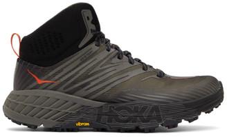 Hoka One One Black Speedgoat Mid 2 Gore-Tex Sneakers