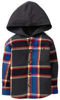 Gymboree Hooded Flannel Shirt