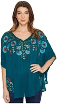 Scully Dance Embroidered Top Women's Clothing