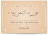 Minted Vintage Tray Wedding Invitations